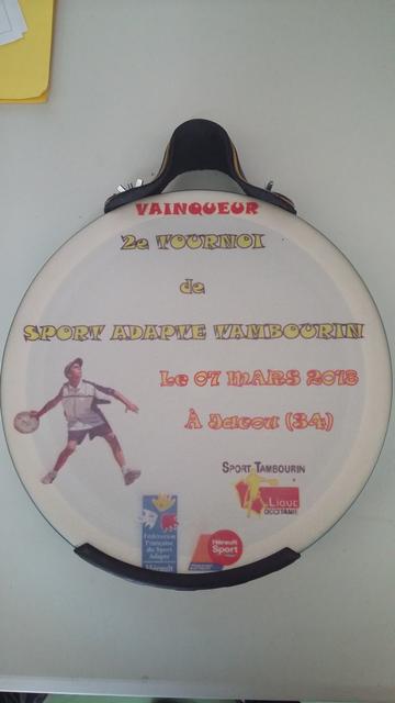 trophée tambourin